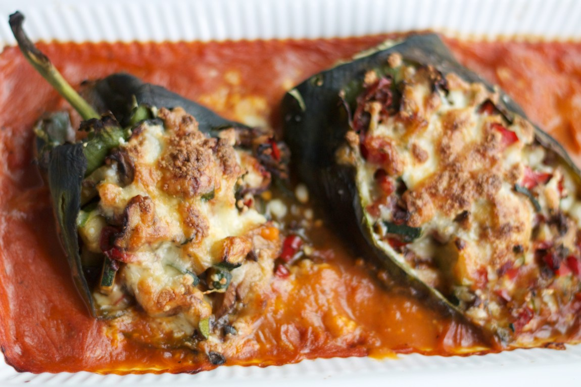 Vegetarian Chile Relleno