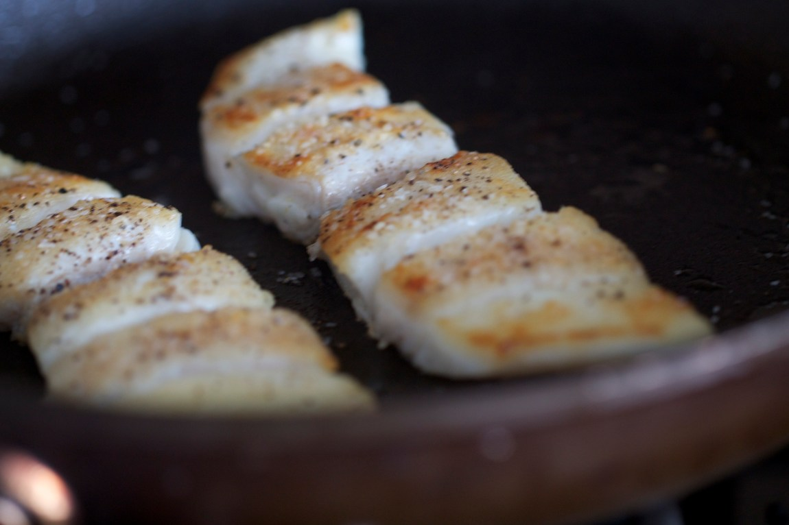 Seared Halibut