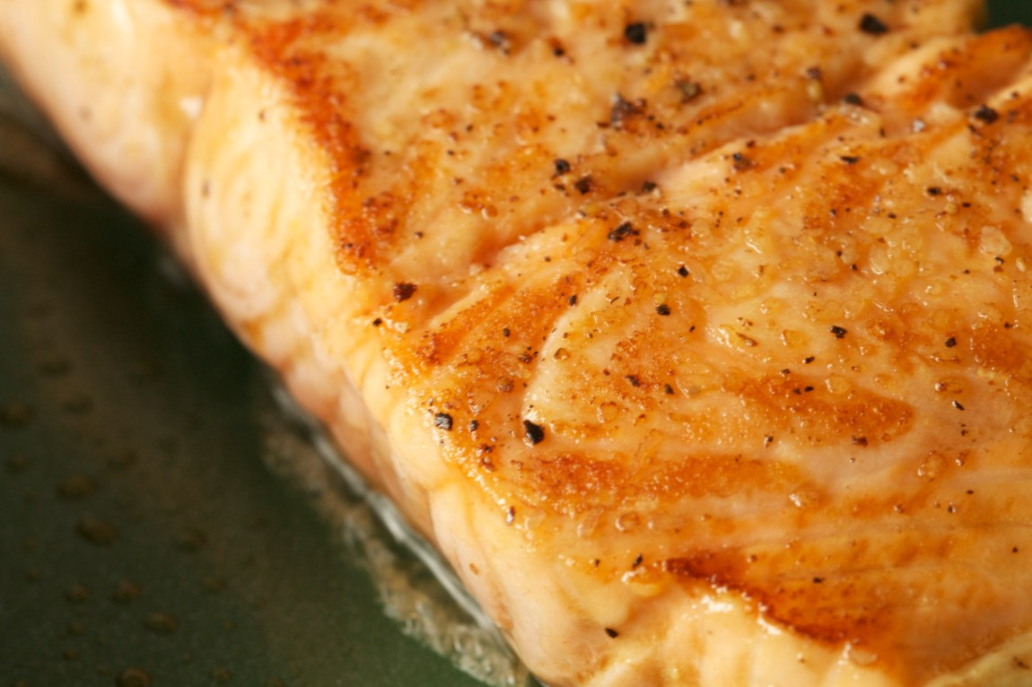 how to cook salmon skin off in oven