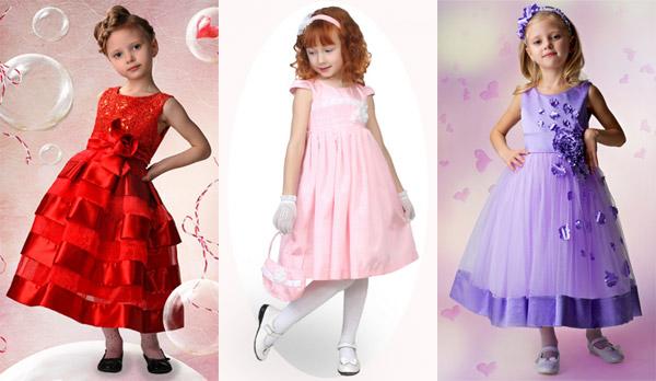 Заказать Красивое Платье Для Девочки