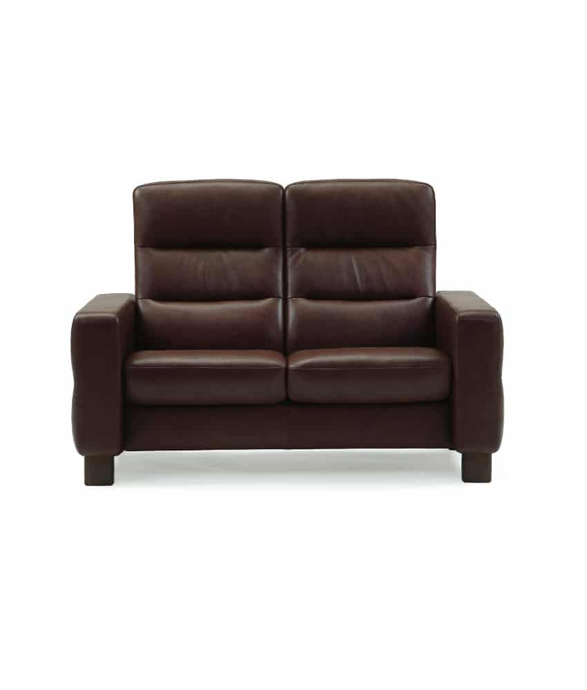 Stresless Ekornes Stressless Wave High Back Loveseat