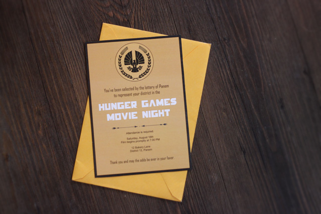 The Hunger Games Movie Night and Free Printables Taryn Williford