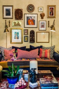 How to Create a Gallery Wall - Interior Design Raleigh NC