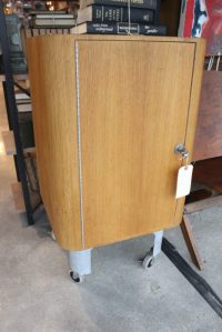 Rolling Bar Cabinet - Form & Function
