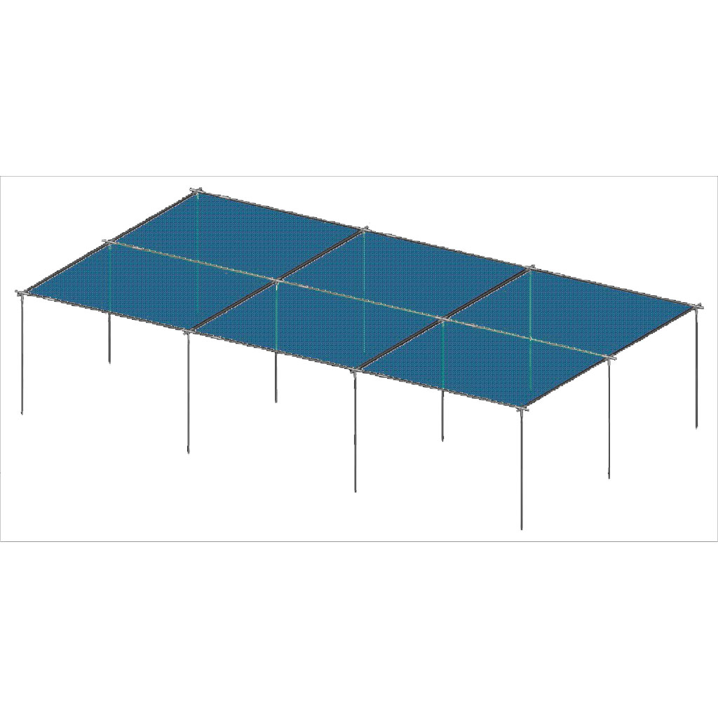 36 X 20 Shade Structure Base Kit Form Reform - Aluminum Shade Structure Kits