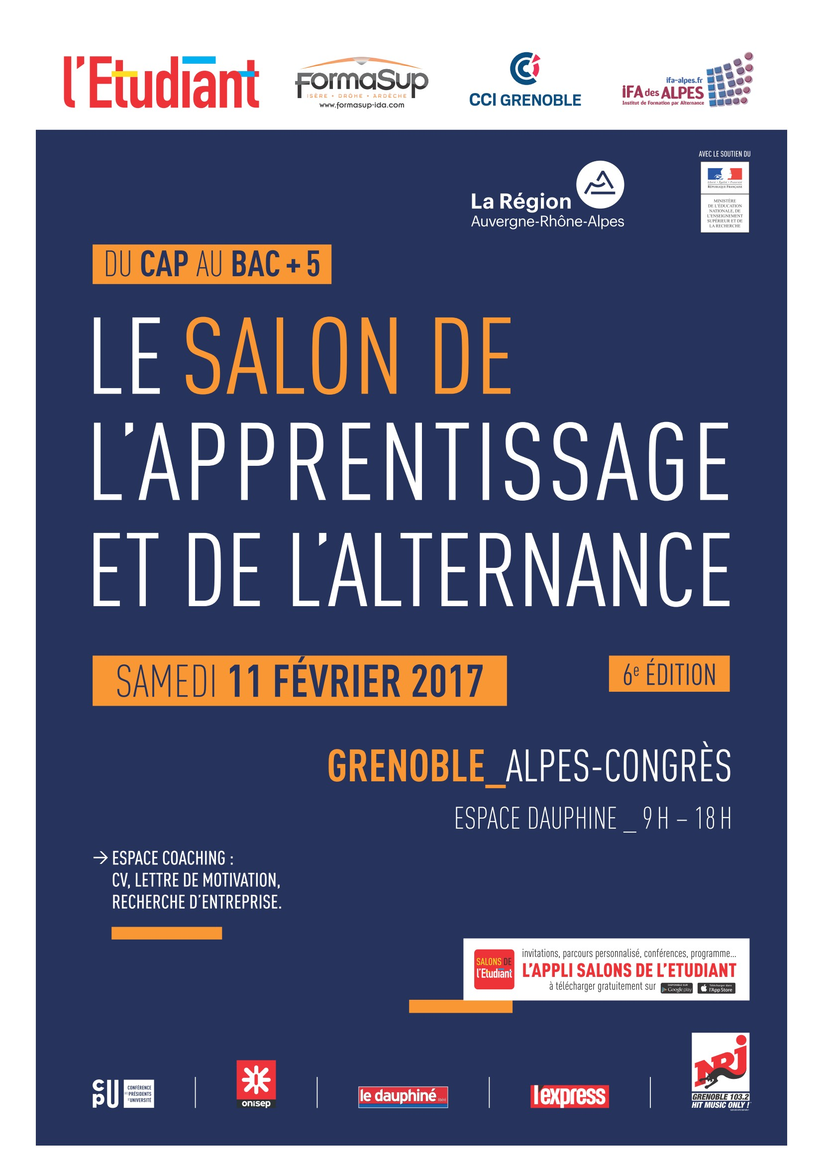 Salon De L Alternance Salon De L Apprentissage Et De L Alternance De Grenoble 11