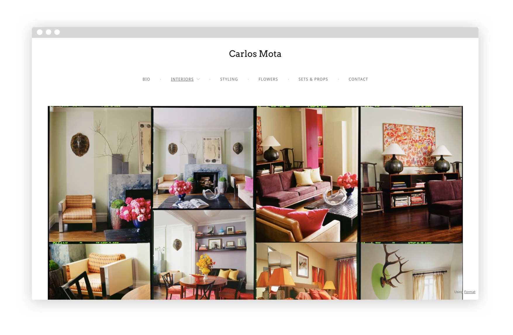 Design Interieur Job 12 Interior Design Portfolio Website Examples We Love