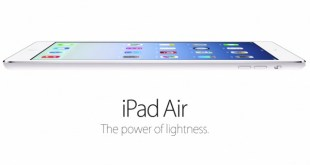 Apple iPad Air format atma