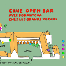 Ciné Open Bar day poster w nowicka