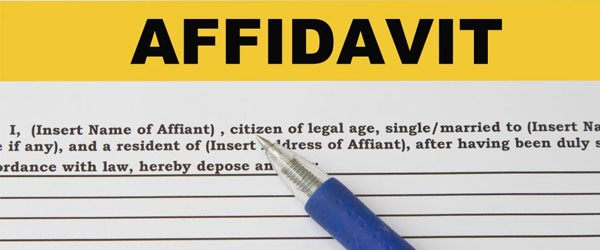 Sample affidavit format for work experience - how to write a legal affidavit