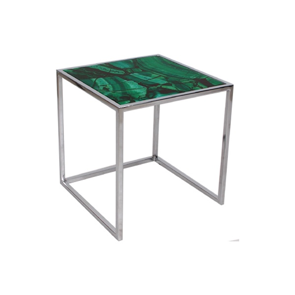 Malachite Side Table Rentals