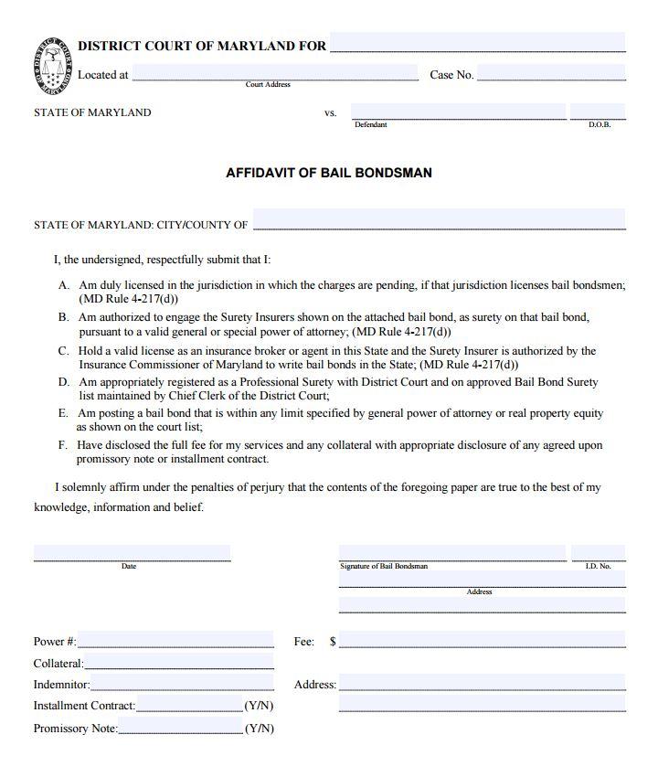 california general affidavit form - Erkaljonathandedecker