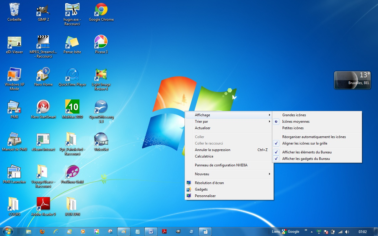 Choisir Un Ordinateur De Bureau Professionnel Chap 2 Windows 7