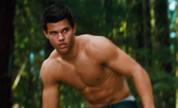 Taylor Lautner como Jacob Black!