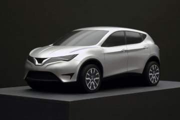 Quarter scale model of the 2014 Nissan Qashqai