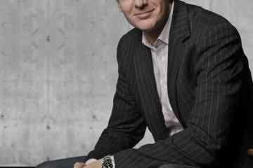 Ernst Reim, interior chief designer, Ford of Europe