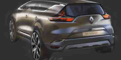 Sketch of the 2014 Renault Espace