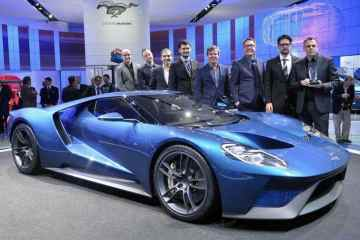 The Ford GT and the design team, the 2015 EyesOn Design's Best Production Award winner