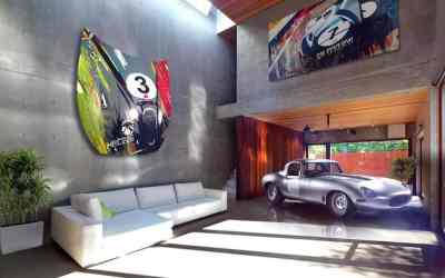 Jaguar artwork by Cesar Pieri