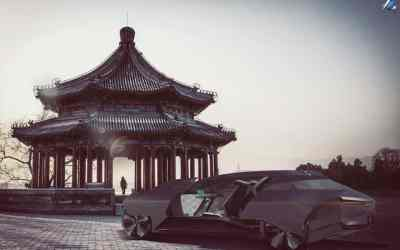 Audi Palanquin Concept – Coventry graduate Hao Jiang ultra-luxurious vision for a limousine that addresses hierarchical preferences for China's upper class