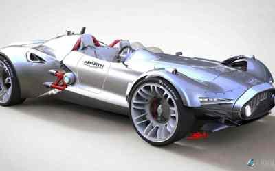 Yenfun Xu's Abarth Concept 204A Spyder Corsa