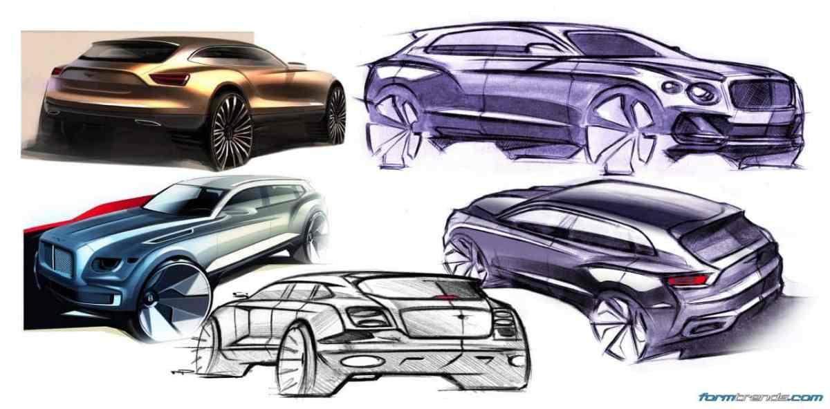 Design Story: Bentley Bentayga
