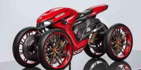 Ducati Assalto concept by Florian Rothbauer