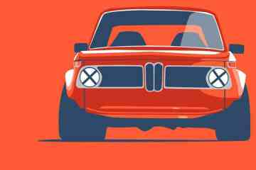 Car Collection BMW 2002 poster