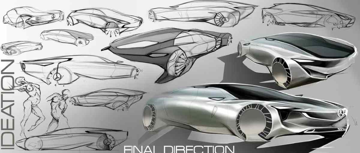 Honda, Mercedes, VW and Chevrolet Concepts by CCS Grad Darby Barber