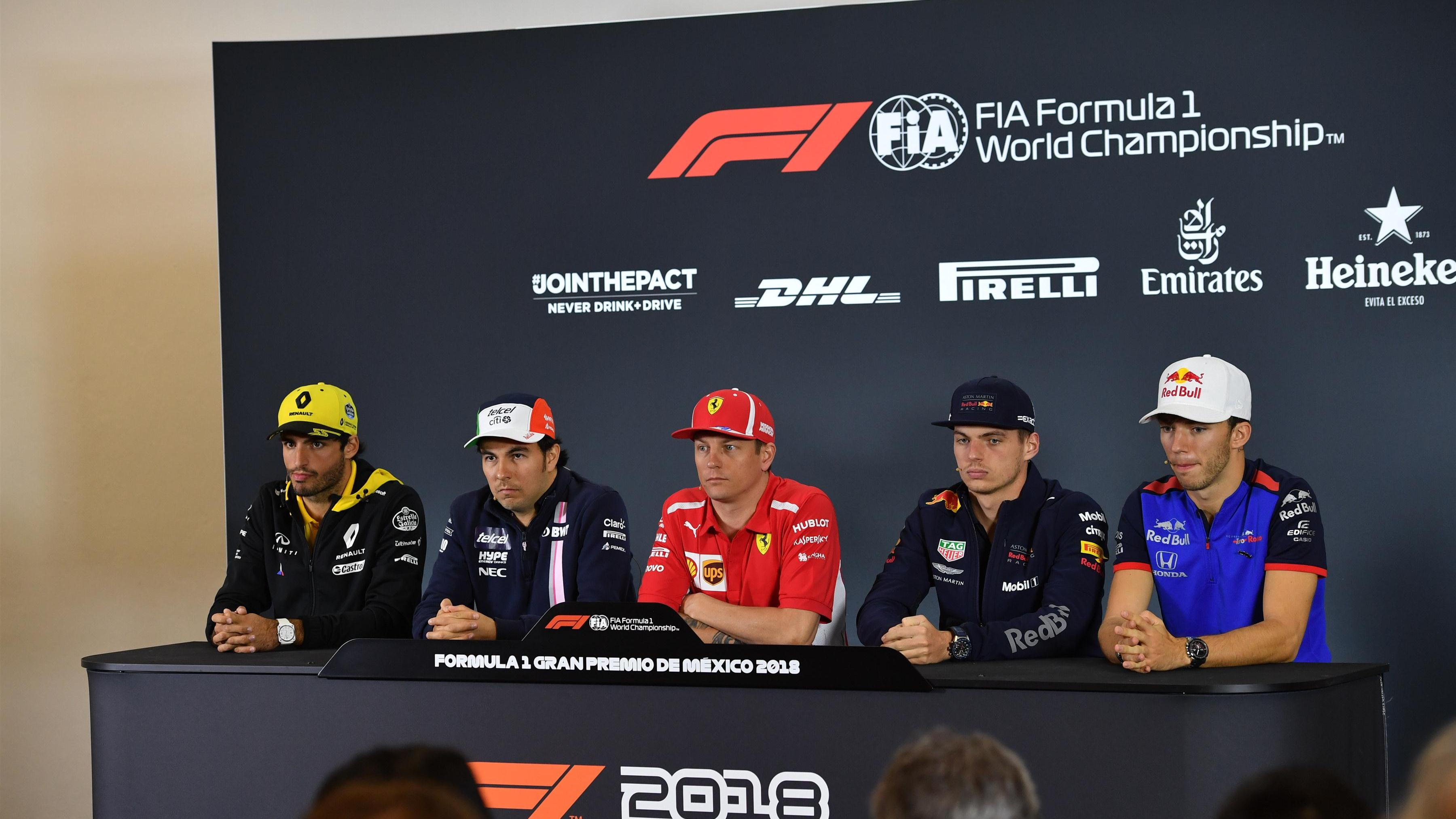 Pavillon Würzburg F1 Mexican Grand Prix 2018 Drivers Press Conference Transcript