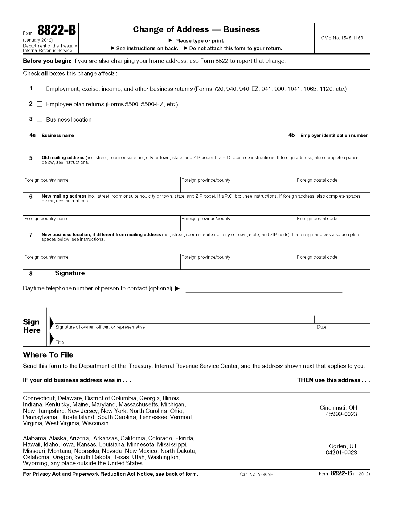 nice irs change of name form pictures irs form to change