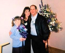 marie y familia