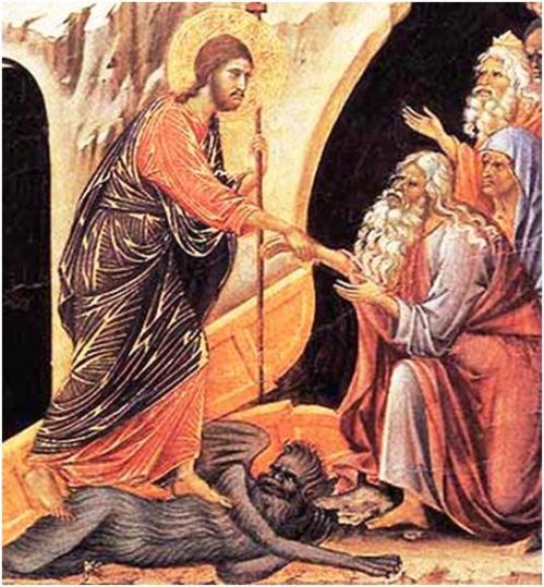jesus descendio a los infiernos
