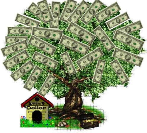 arbol del dinero