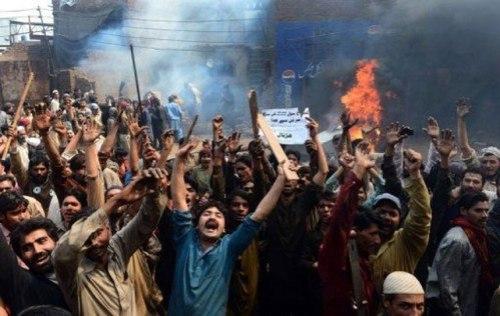 violencia musulmana contra cristianos en pakistan