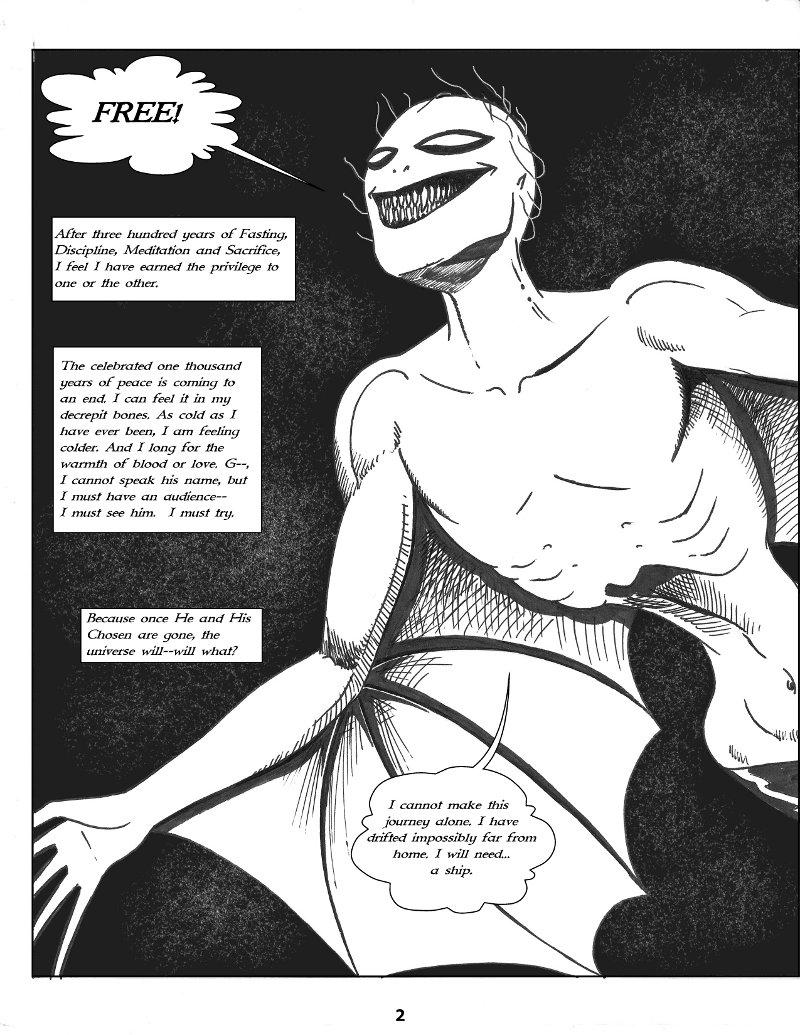 Forsaken Stars Issue One Page 2