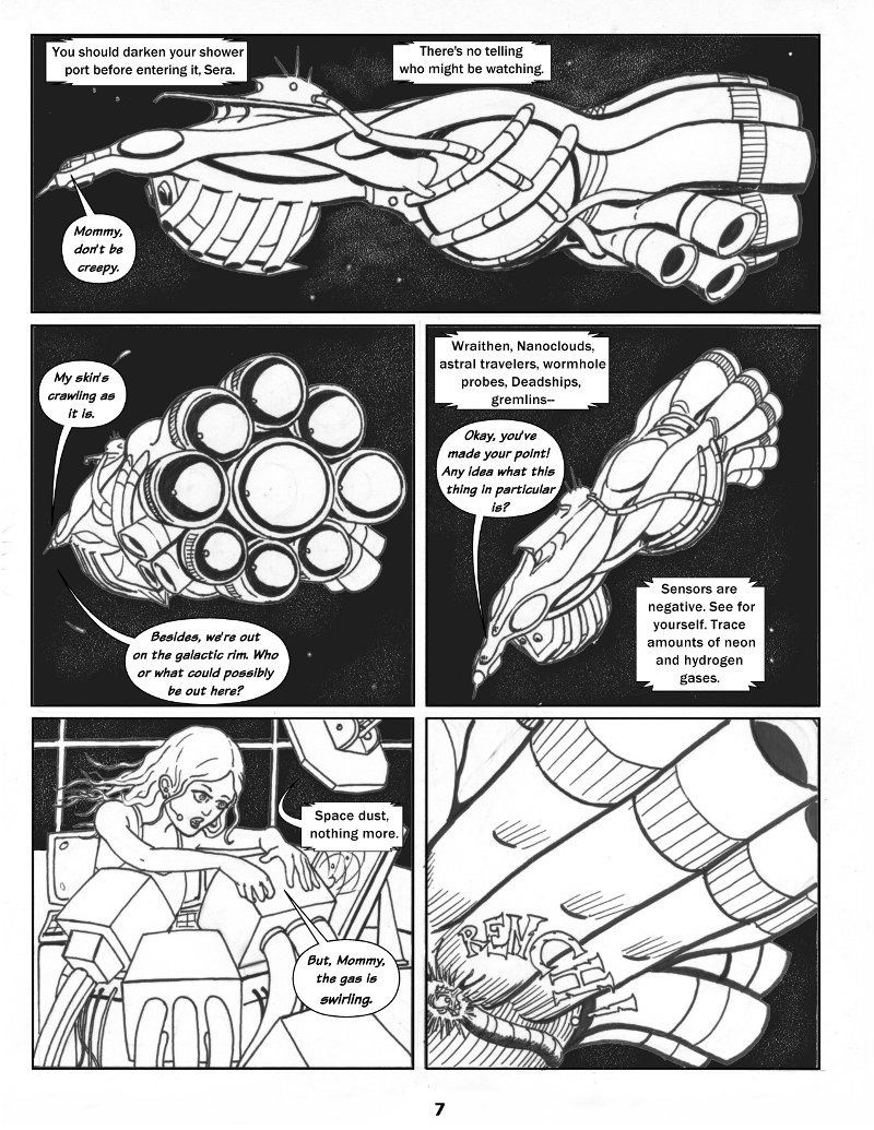Forsaken Stars Issue One Page 7