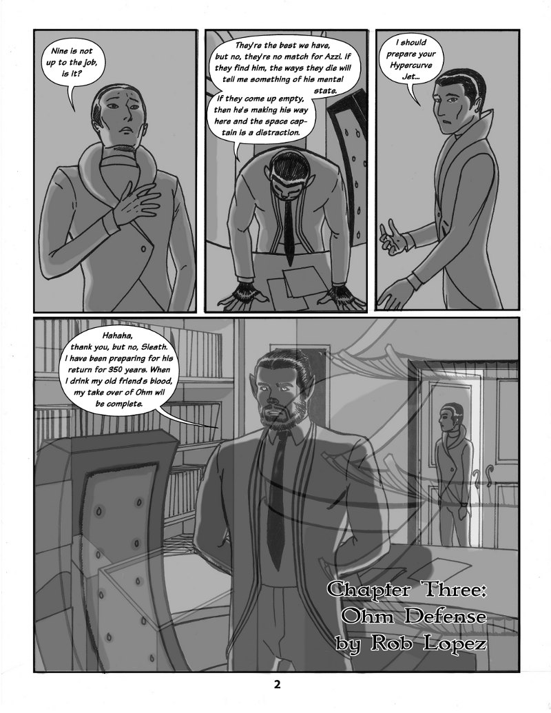 Forsaken Stars Issue Three, Page 2