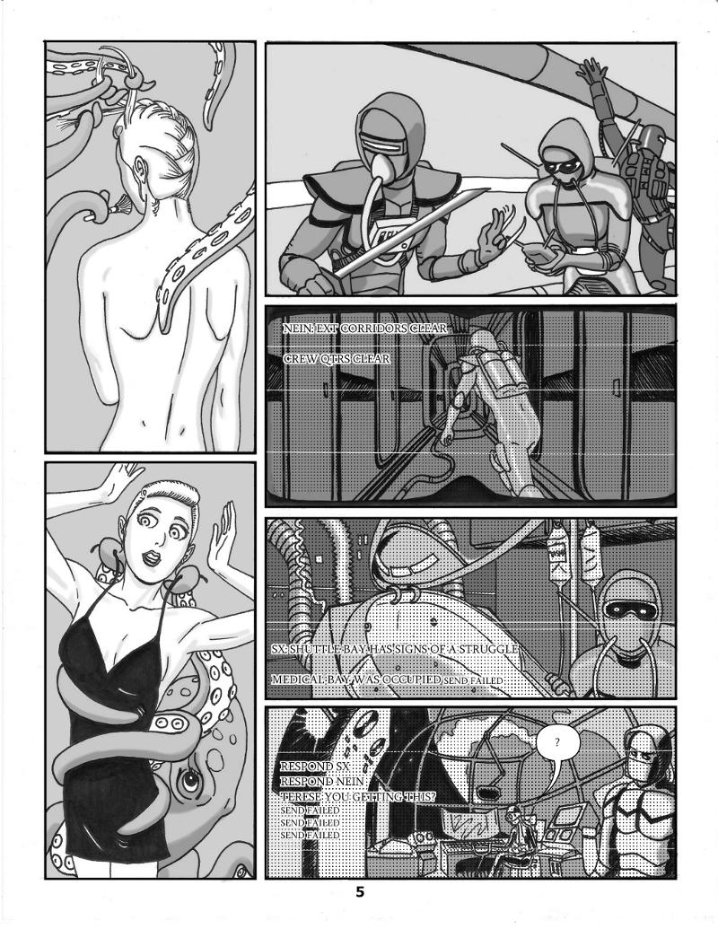 Forsaken Stars Issue 3, Page 5