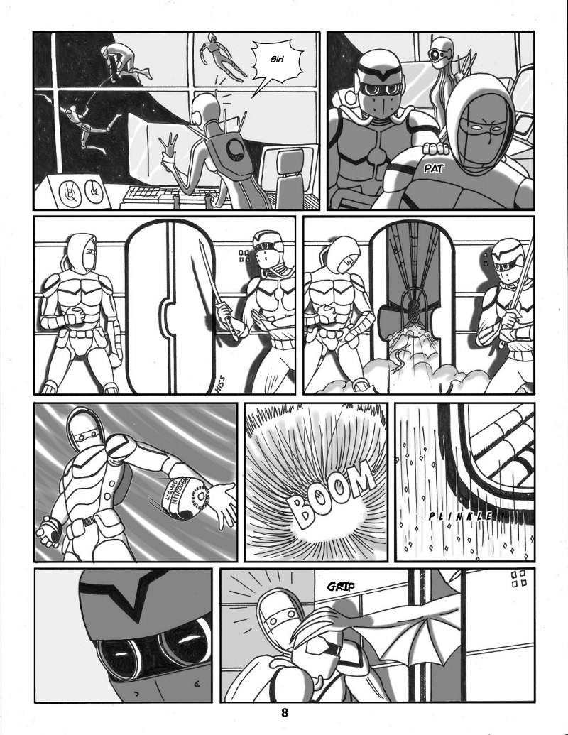Forsaken Stars Issue Three, Page 8