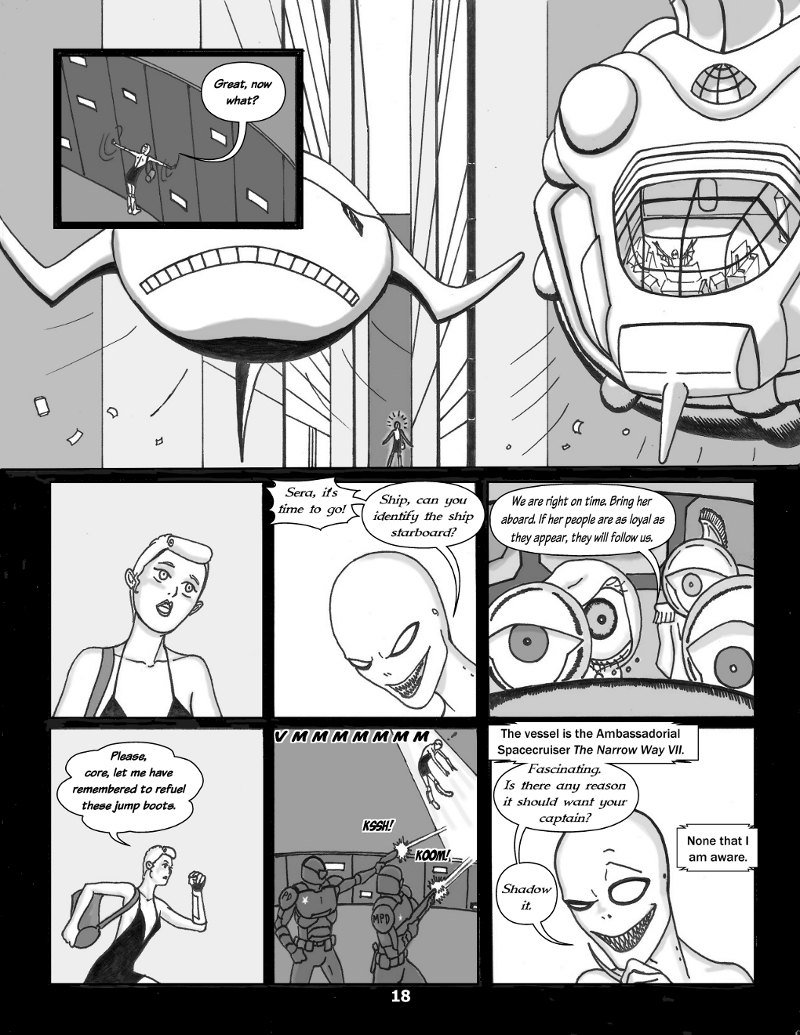 Forsaken Stars Issue Three, Page 18