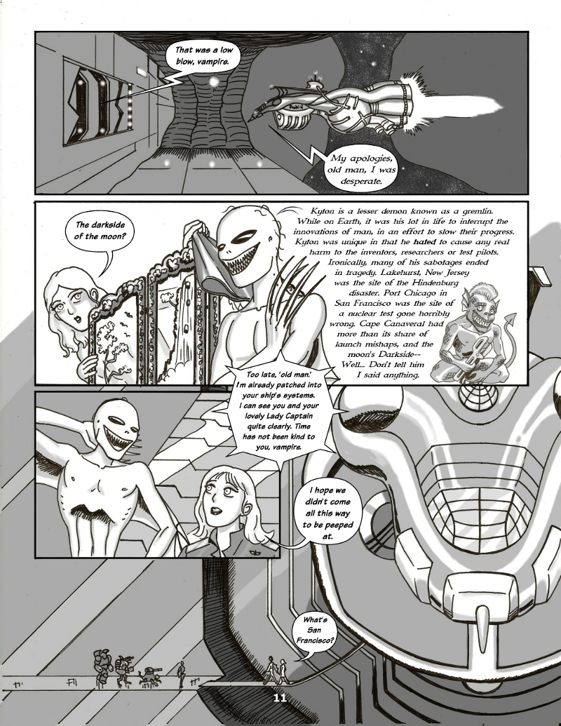 Forsaken Stars Issue Four, Page 11