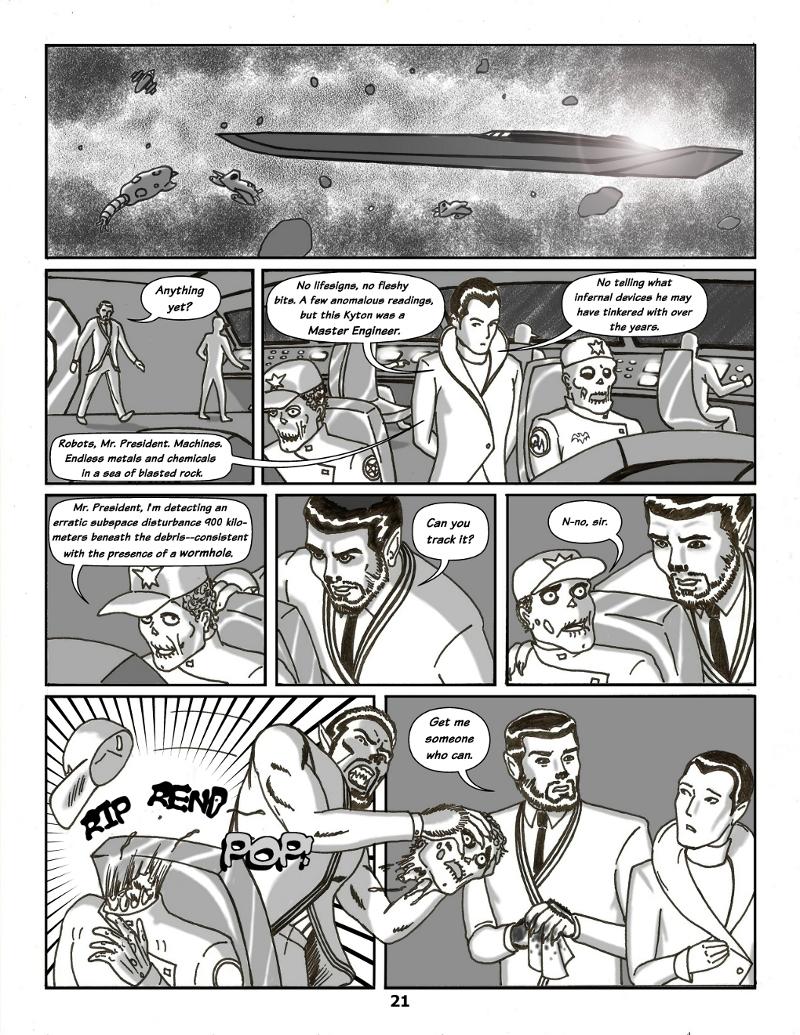 Forsaken Stars Issue Four, Page 21