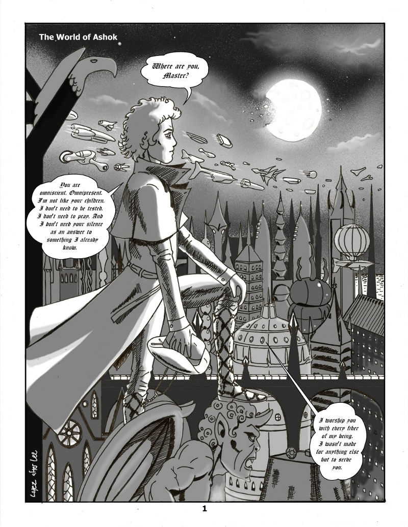 Forsaken Stars Issue Five, Page 1