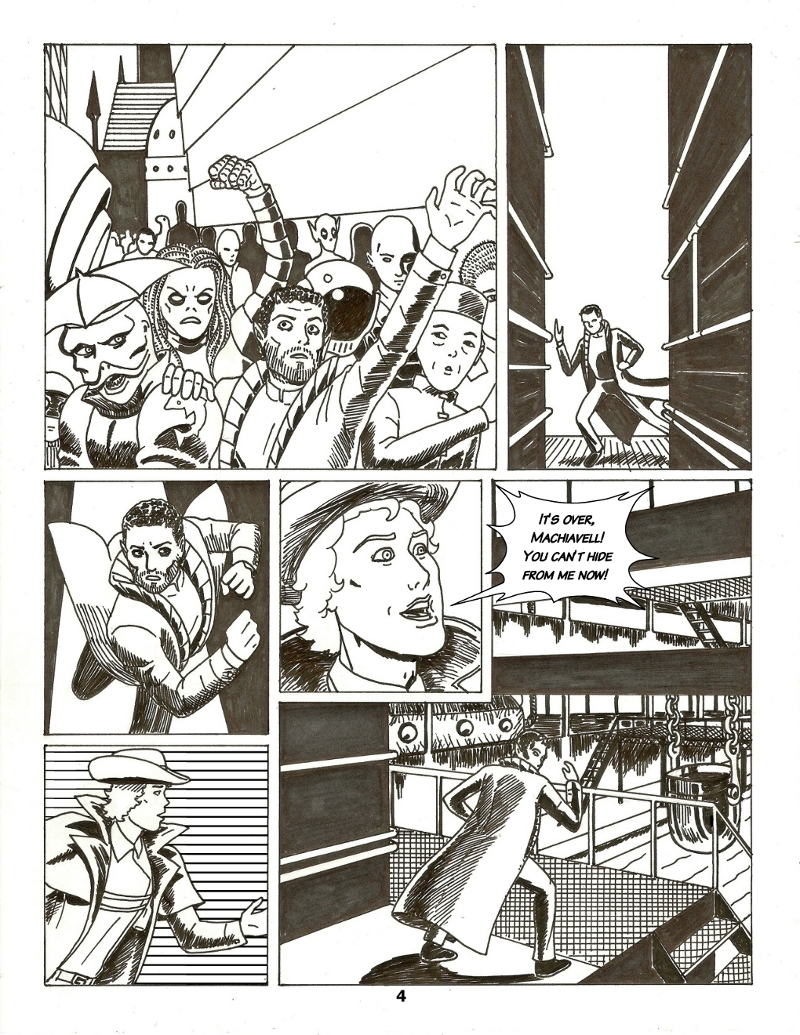 Forsaken Stars Issue Five, Page 4