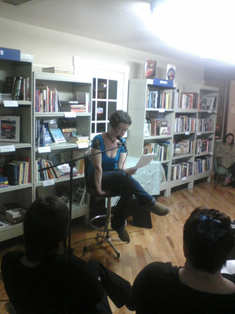 Sarah Peterson reads from her short, The Cheat