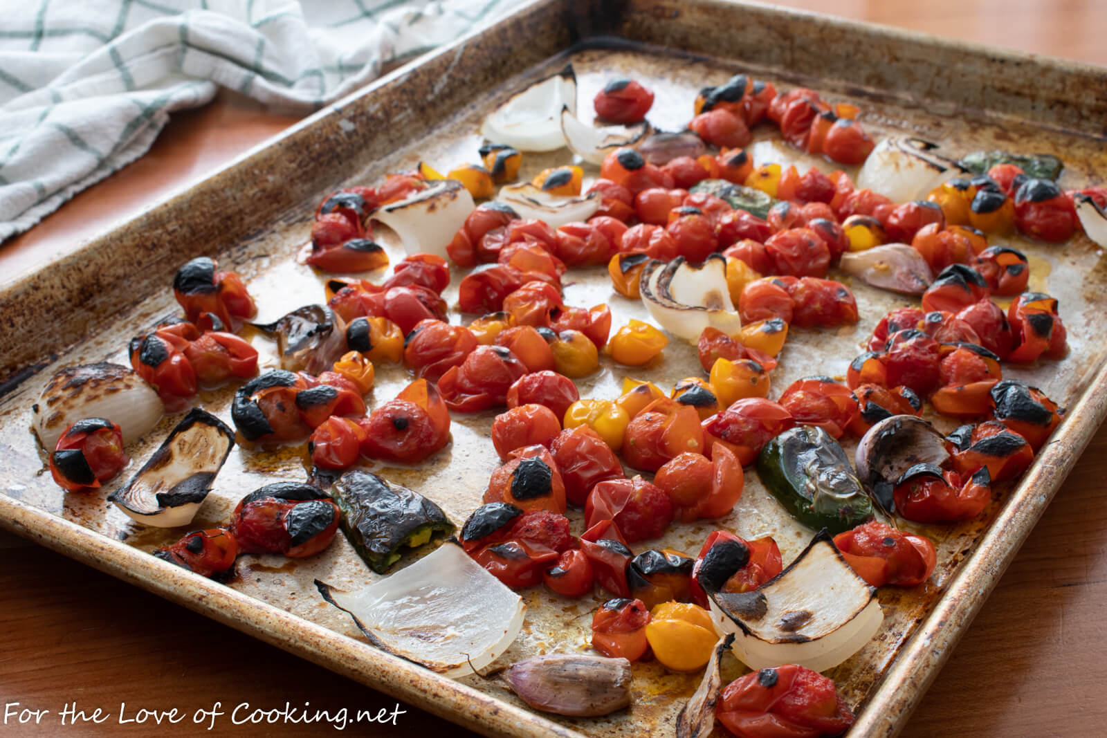 Fire Roasted Cherry Tomato Salsa For The Love Of Cooking