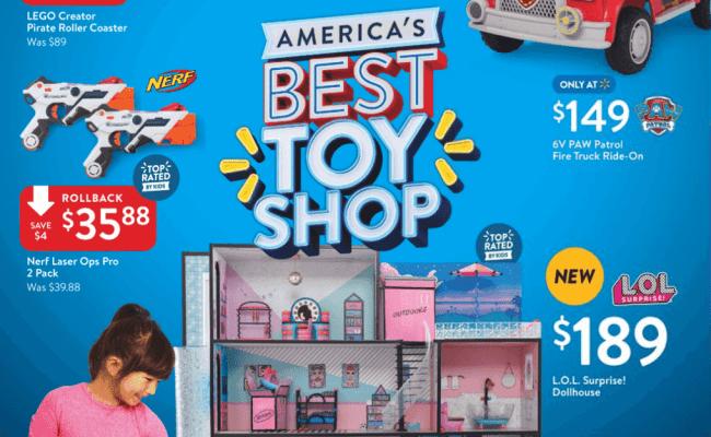 Walmart Toy Book 2018 Ftm