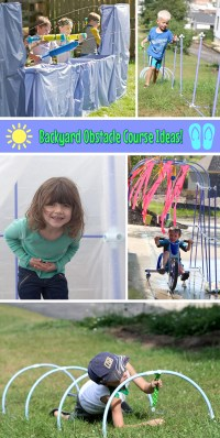 Fun Ideas for an Obstacle Course in Your Backyard