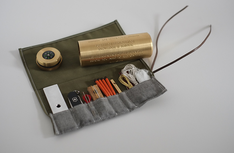 Life is Precious Survival Kit by Fort Standard :: via Cool Material